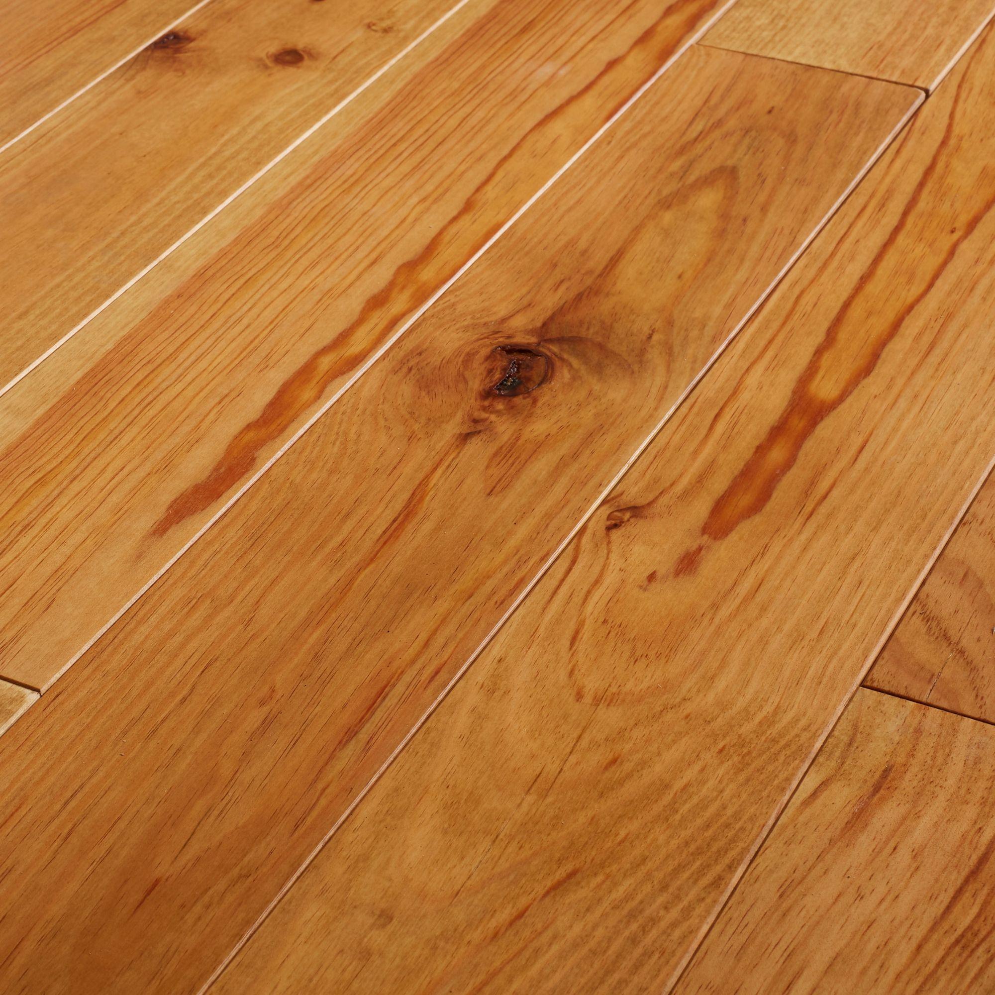Goodhome Granna Natural Pine Solid Wood Flooring 0 96m Pack Departments Diy At B Q