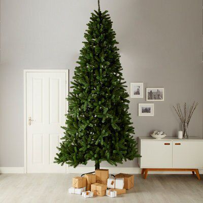 10ft Fircrest Full Looking Artificial Christmas Tree Departments Diy At B Q