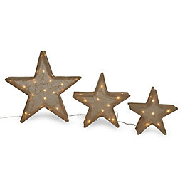 Mains operated Static Star trio Silhouette