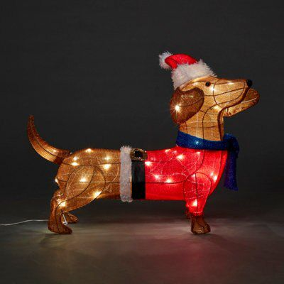 Light-up 3D Pop-up Card by Up With Paper Dachshunds