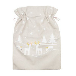 Dove grey Enchanted forest Sack