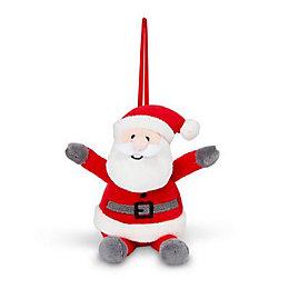 Battery powered Musical Santa Mini squeezer