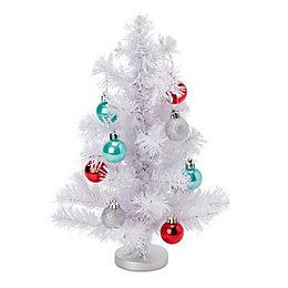 White Table top tree