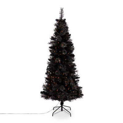 7ft Verbier Pre Lit Led Christmas Tree Departments Diy At Bq