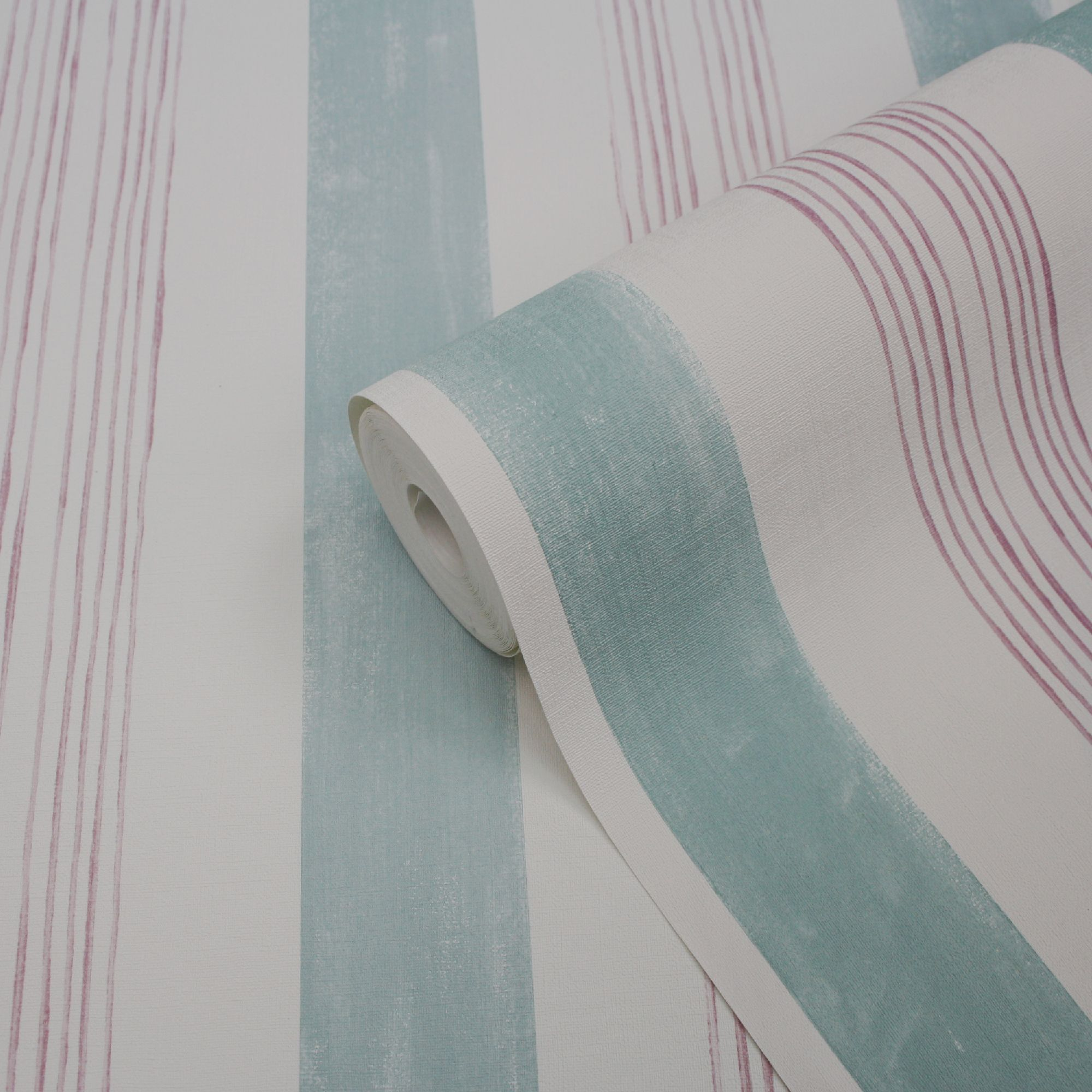 goodhome eulophia green pink striped textured wallpaper departments diy at b q goodhome eulophia green pink striped textured wallpaper departments diy at b q