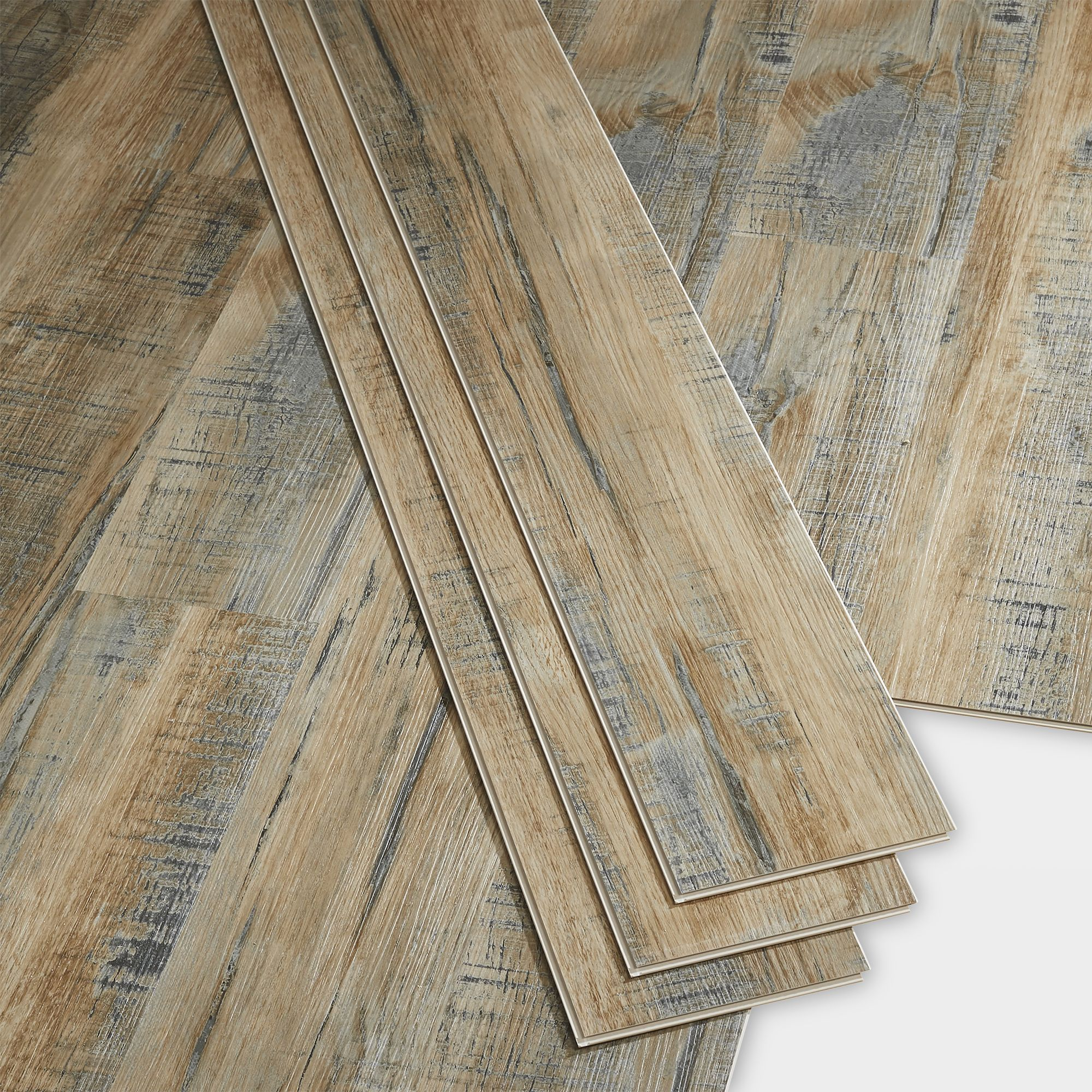 GoodHome Bachata Hadaka Wood effect Luxury vinyl click flooring, 5.5m²  Pack  Departments  DIY at B&Q