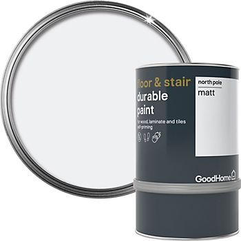 GoodHome Durable North pole Matt Floor & stair paint