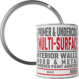 Colours White Multi surface Primer & undercoat 2.5L