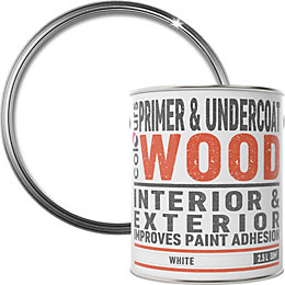 Colours White Wood Primer & undercoat 2.5L
