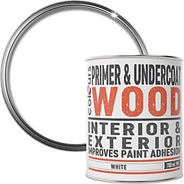 Colours White Wood Primer & undercoat 0.75L