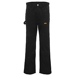 Site Beagle Black Trousers W32 L32