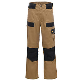 Site Brown Trousers W38 L32