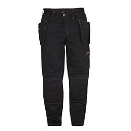 Site Black Trousers W30 L32