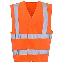 Orange Hi vis vest Large/Extra Large