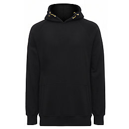 Site Alder Black Hooded sweatshirt Medium