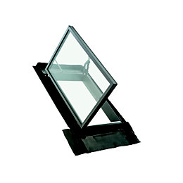 Anthracite Aluminium LH Skylight (H)925mm (W)700mm