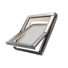 Site Anthracite Aluminium Alloy Roof window (H)980mm (W)780mm