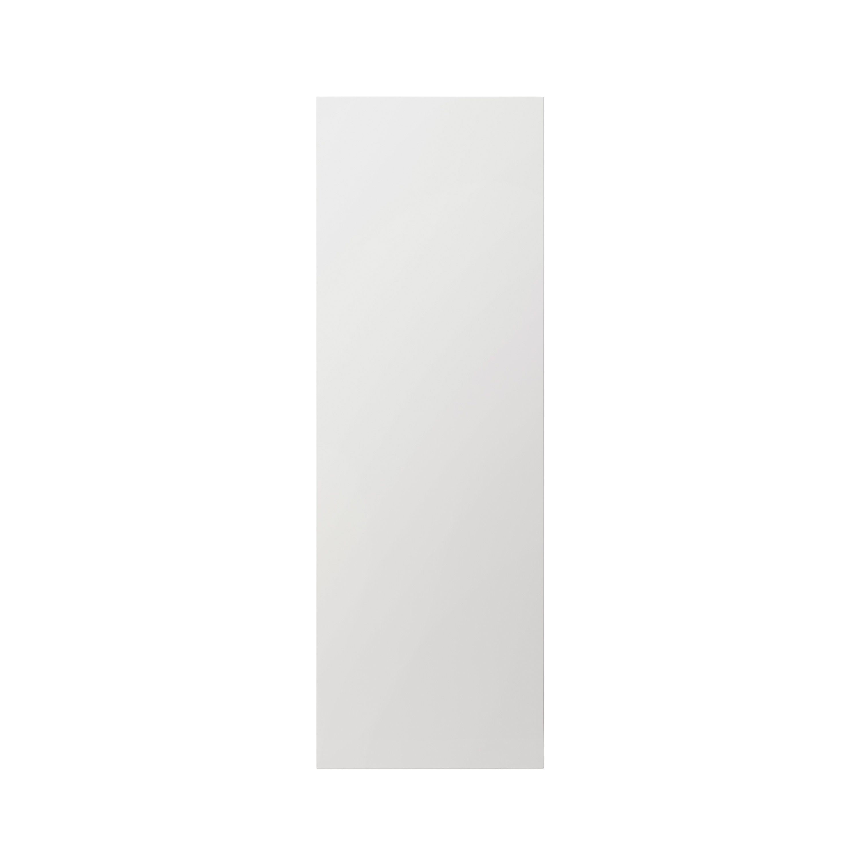 Goodhome Alisma High Gloss White Slab Tall Larder Cabinet