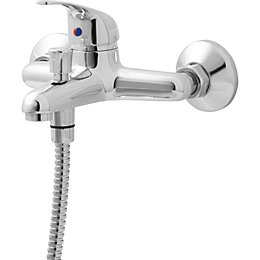 Arborg Chrome plated Monobloc bath/shower mixer tap