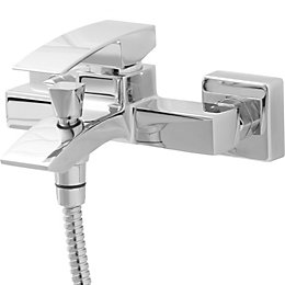 Cooke & Lewis Hopa Chrome plated Universal bath
