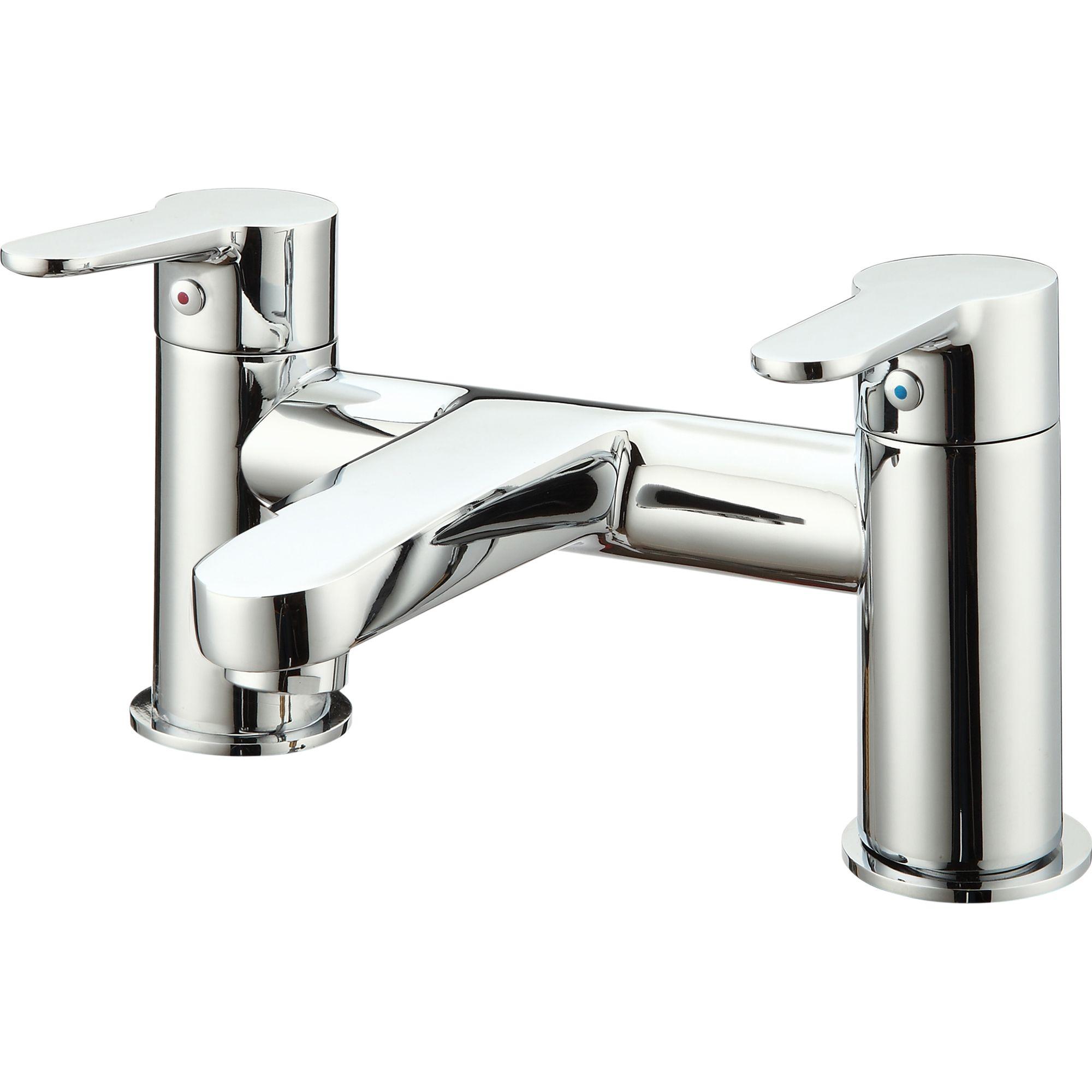 cooke lewis lecci chrome plated bath mixer tap. Black Bedroom Furniture Sets. Home Design Ideas