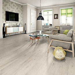 Mount St Helene Grey Laminate flooring 1.985 m²
