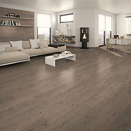 Marapi Grey Laminate flooring 1.736 m²