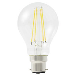 Diall B22 806lm LED Dimmable GLS Light bulb