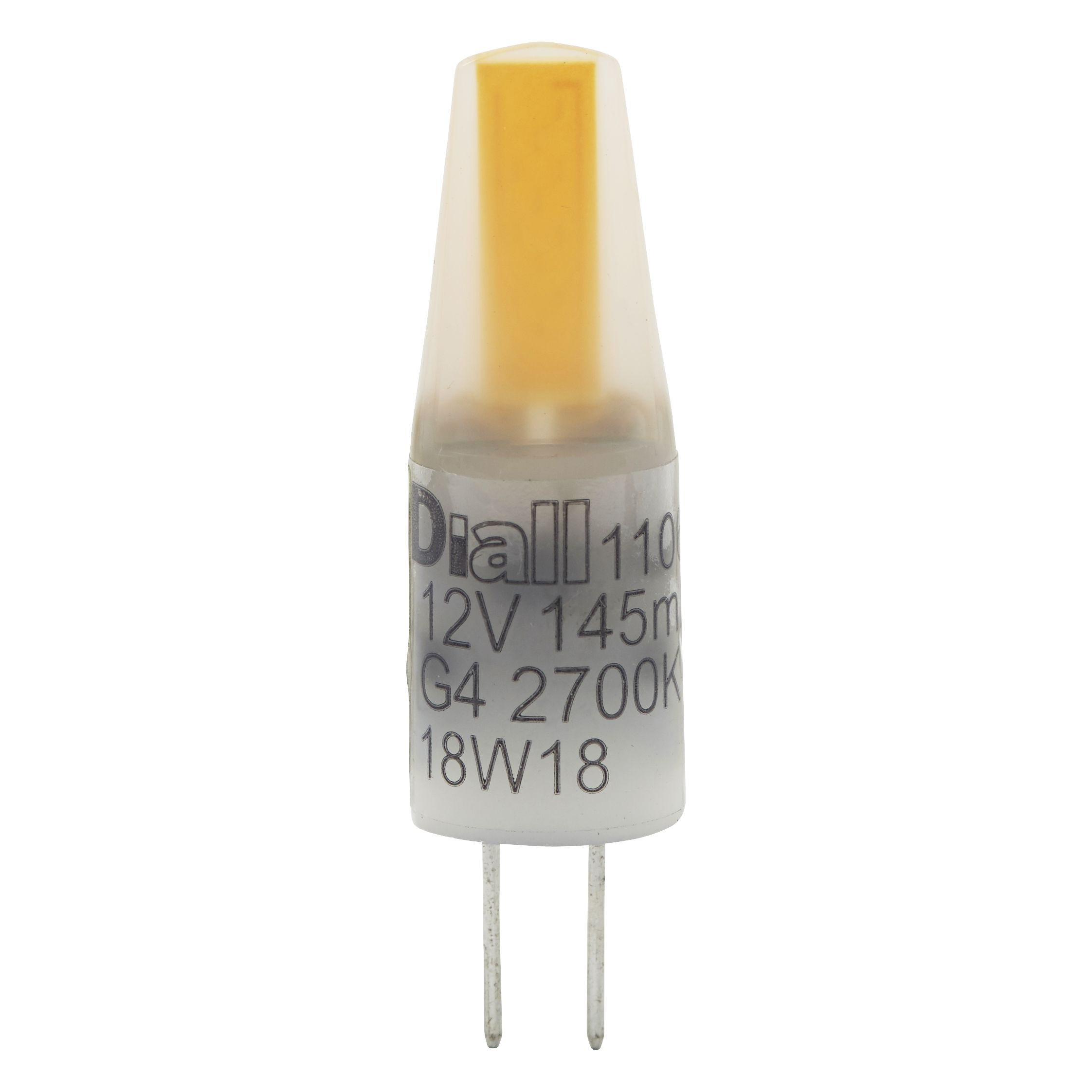 Diall G4 2W 180lm Capsule Warm white LED Light bulb, Pack of 2 |  Departments | DIY at B&Q