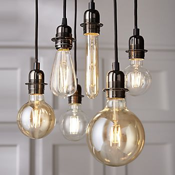 decorative hanging bulbs