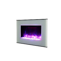 LED Remote control Electric fire