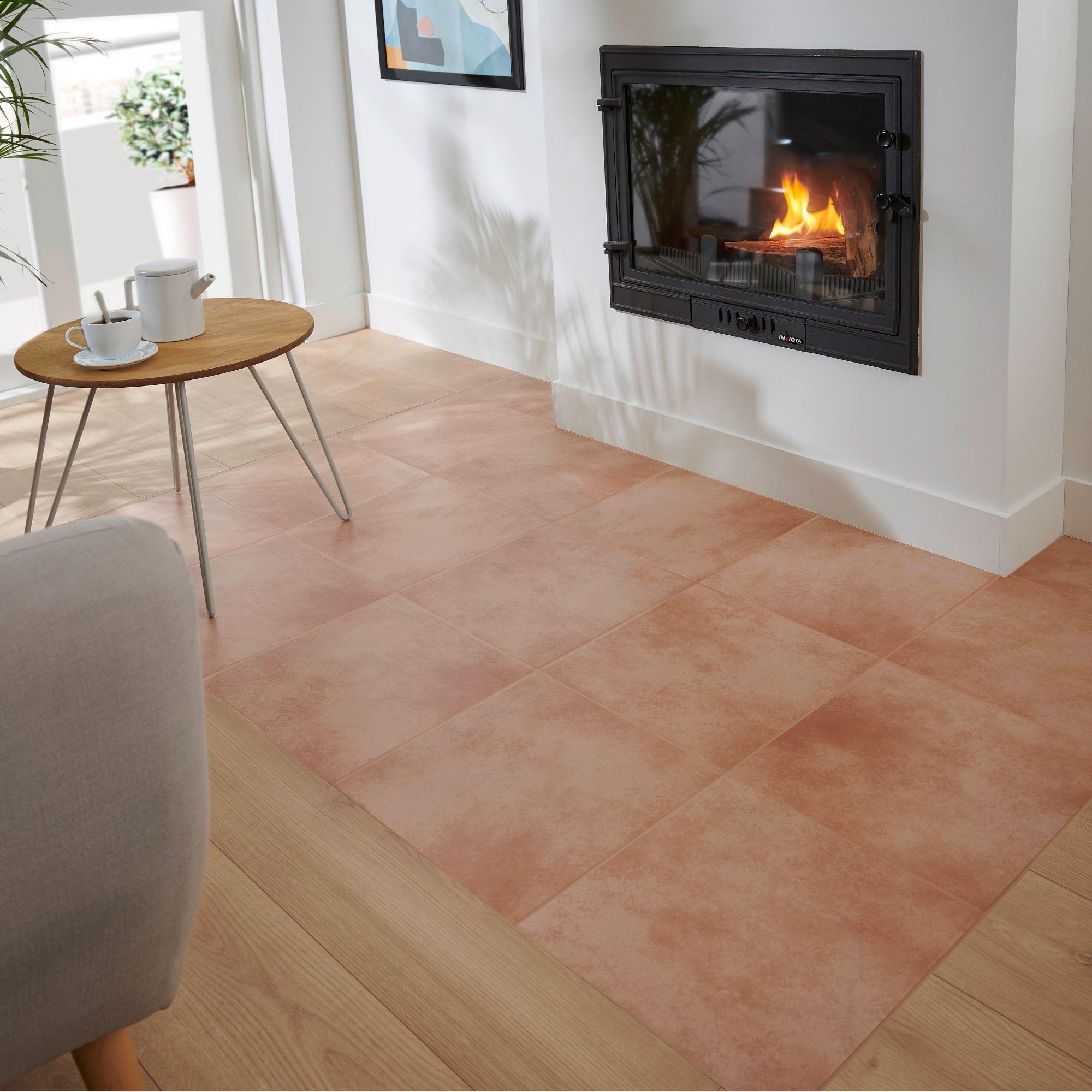 Terracotta Effect Ceramic Floor Tile