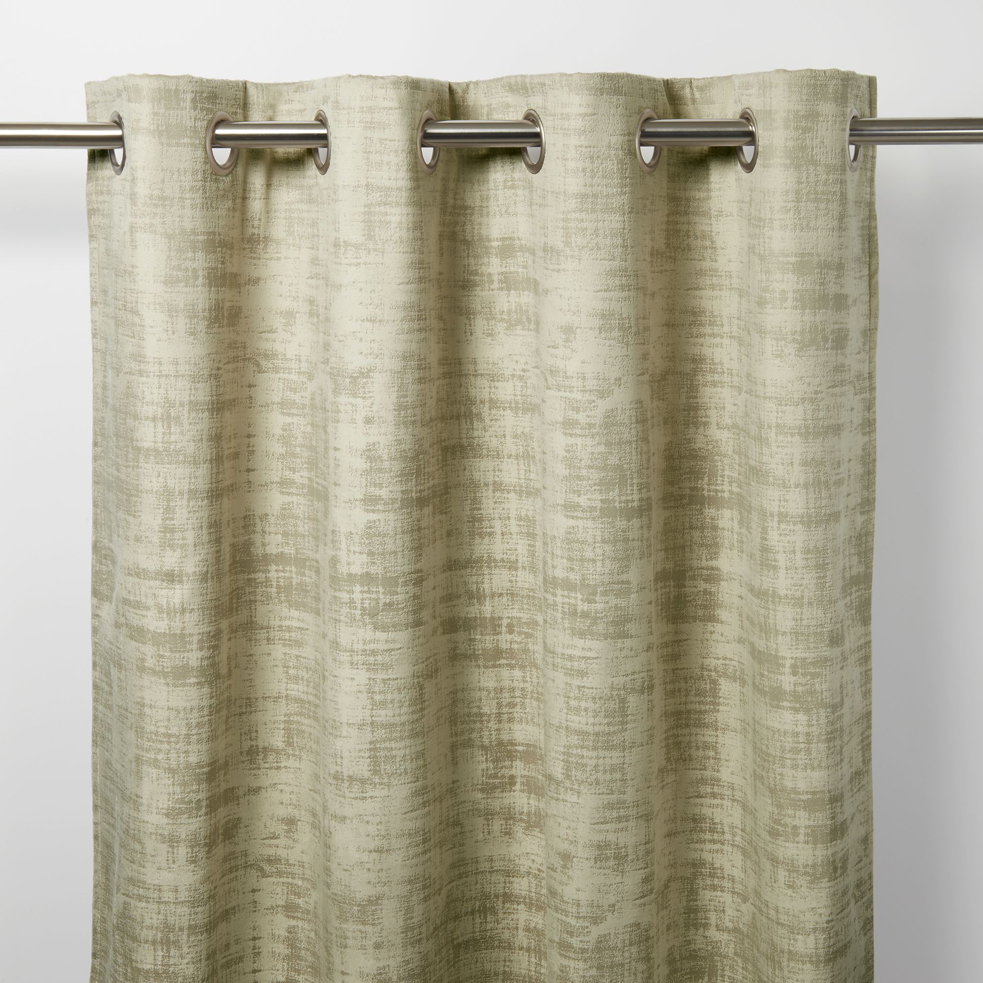 Ruvor Beige Abstract Blackout Eyelet Curtain W 117cm L 137cm Single Departments Diy At B Q