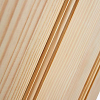 Traditional Clear pine Internal Door, (H)1981mm (W)610mm