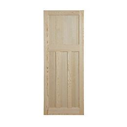 Traditional Clear pine Internal Standard Door, (H)1981mm (W)762mm