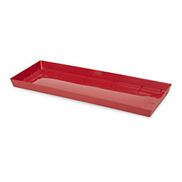 Blooma Red Plastic Saucer