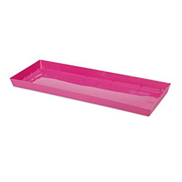 Blooma Pink Plastic Trough saucer (Dia)600mm