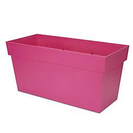 Nurgul Rectangular Pink Trough (H)390mm (Dia)788mm