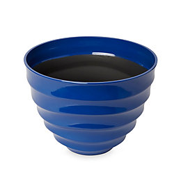 Momoka G Round Blue Pot (H)220mm (Dia)300mm