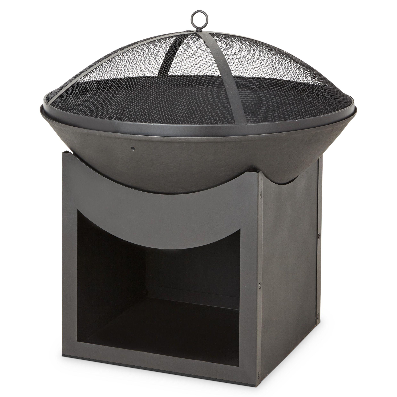 blooma ulong cast iron steel firepit departments diy. Black Bedroom Furniture Sets. Home Design Ideas