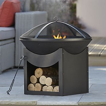 Blooma Ulong Cast Iron & Steel Firepit