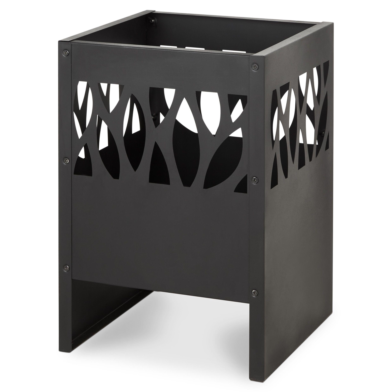 blooma anabar steel firepit departments diy at b q. Black Bedroom Furniture Sets. Home Design Ideas