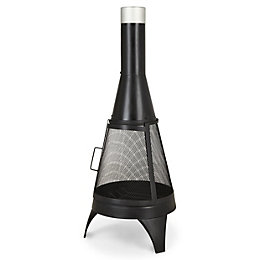 Blooma Siruma Steel Chiminea
