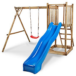 Blooma Franek Wood Swing set