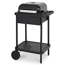 Blooma 200 Black Rockwell Charcoal Barbecue