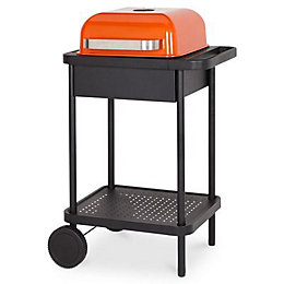 Blooma 200 Orange Rockwell Charcoal Barbecue