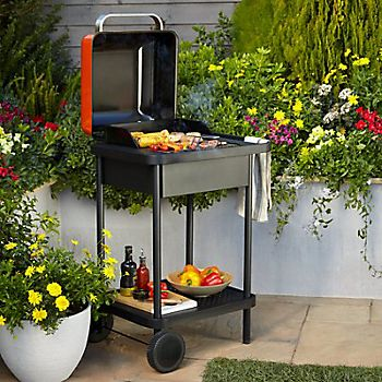 Blooma Rockwell 200 orange portable barbecue