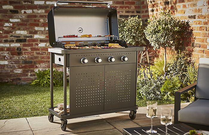 """Rockwell 400 gas barbecue"""