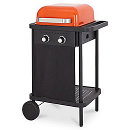 Blooma 200 Orange Rockwell 2 Burner Gas Barbecue