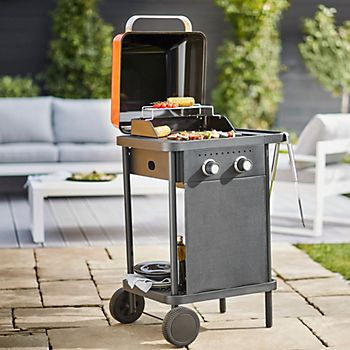 Blooma Rockwell 200 orange gas barbecue